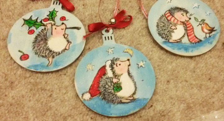 Hand painted Christmasgifts