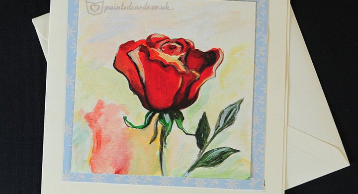 Watercolor floral cards forher