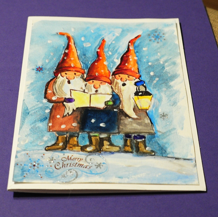 Christmas-carol_greeting cards hand made