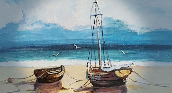 Boats at seashore!