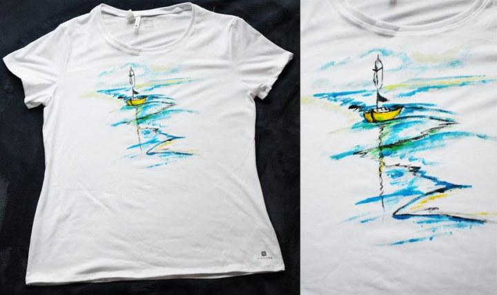 Painted-tshirton-the-sea