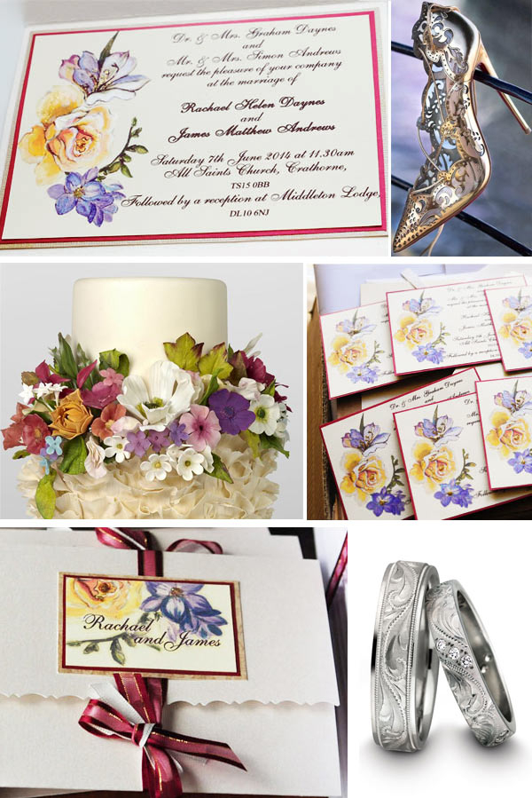 Rose_flowers_bespoke_high_quality_invitations_order_of_service_rings_assorted_painted