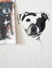 Oil-on-canvaspet-portrait-Staffordshire-Bull-Terrier2