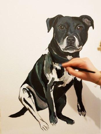 Oil-on-canvaspet-portrait-Staffordshire-Bull-Terrier3