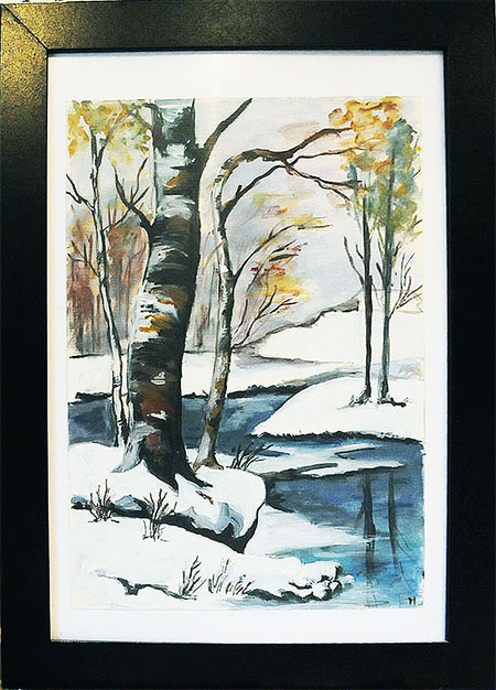 winter-landscape-painted-watercolour-beautiful-gift-original-art-hand-painted