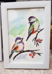 Birds-small-painting-watercolor-beautiful-gift