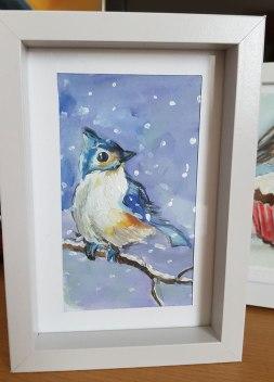 Bleu-bird-small-painting-watercolor-beautiful-gift