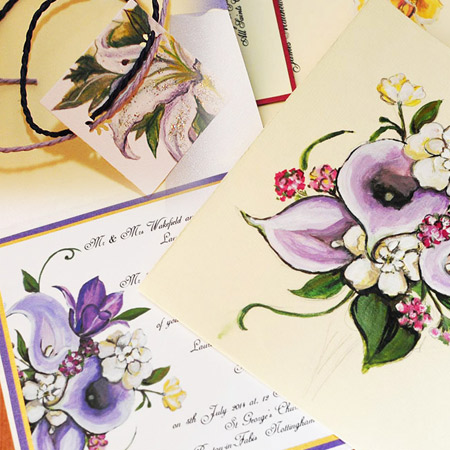 Wedding invitations byHerminart
