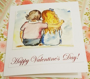 hand-paintedcards-children-watercolour-valentines-day-red-poppies-love