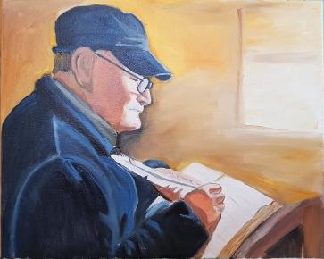 portrait writer oil-painting-on-canvas-portrait-order-commission__swindon_bath_wotton_basset_bespoke