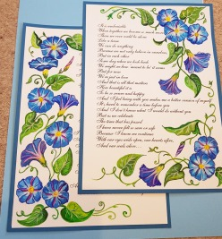 vows-renewal-beautiful-bluehim-and-her-framemorning-glory-flower-special-order