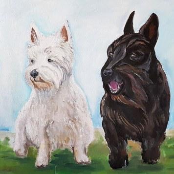 black-and-white._dog-portraits