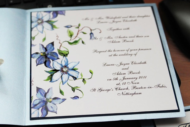 Spring collection wedding invitations
