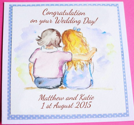 cuple watercolour wedding-anniversary-personalised_greeting_handmade_england