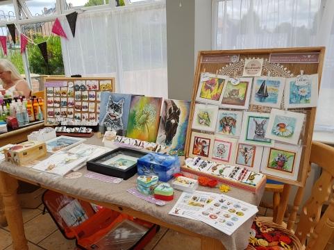 Summer Fayre artcraft herminart handmade swindon