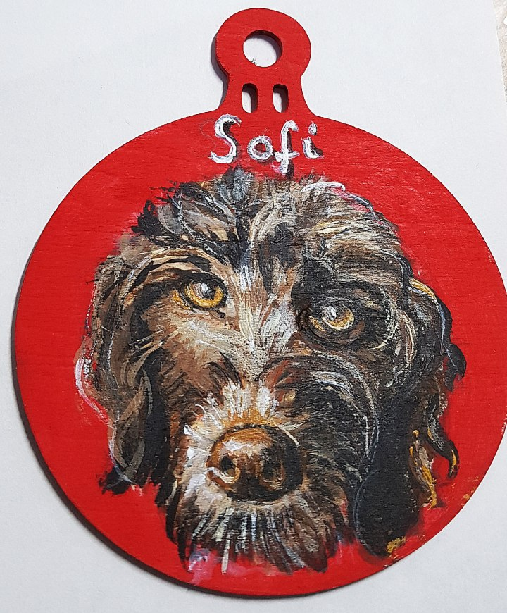 Personalised pet portrait gift