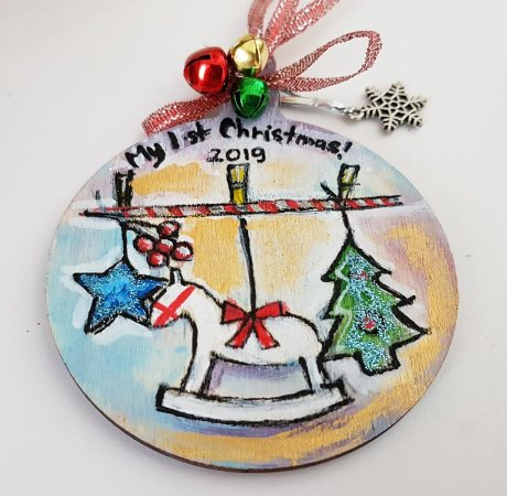 hangingchrismastree-decorations-hand-painted-on-wood-face-first-babi-christmas