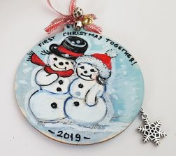 hangingchrismastree-decorations-hand-painted-on-wood-first-christmas-together-winter-christmasgiftpersonalised