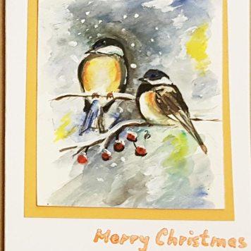 Christmas-card-original-print-personalised-christmas-card-birds-in-winter