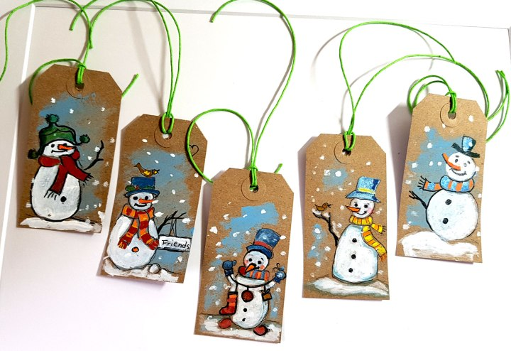 Christmas gifts tag